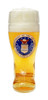 Personalized German Beer Boot with USAF Seal