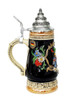 Hand Painted German Stein with 24K Gold Accents