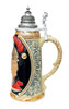 King Limitaet 2009 | Peter Duemler Minerva Handpainted Beer Stein