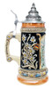 Xmas Beer Stein with Lid