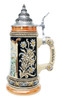Bavarian Christmas Beer Stein with Lid