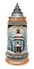 Collectible Xmas German Beer Stein with Lid