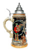 Oktoberfest Dancing Beermaid Beer Stein