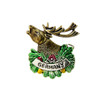 German Elk Hat Pin