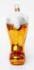 Traditional German Glass Ornament - Das Boot Style