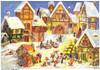 Village Christmas Market German Advent Calendar