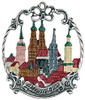 Authentic Munich German Pewter Christmas Tree Ornament