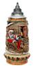 Santa in Sleigh German Christmas Beer Stein