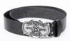 Hofbrauhaus HB Leather Belt with Metal Buckle