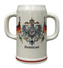 Double Handle Oktoberfest 2 Liter Stone Mug