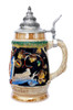 Gambrinus and St Salvator Beer Stein