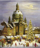 Christmas Market in Desden German Advent Calendar