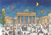 Berlin Bradenburg Gate German Advent Calendar