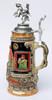 Rothenburg Jousting Knight Beer Stein
