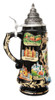 Heidelberg Beer Stein with 24K Gold Accents