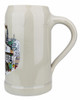 1 Liter Ceramic German Beer Mug