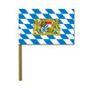 Bavarian Lion Crest 4in x 6in Party Flag 6 pack