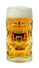 Deutschland Crest Dimpled Oktoberfest Glass Beer Mug Personalized
