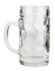 Side .5 Liter Glass Beer Mug