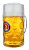 Paulaner Personalized Glass Beer Mug