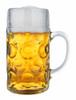 1 Liter German Glass Beer Mug