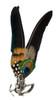 Oktoberfest Alpine Hat Peacock Feather German Hat Pin
