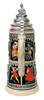 King Limitaet 2015 | Medieval Months Handpainted Beer Stein