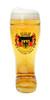 Personalized German Glass Beer Boot with Deutschland Crest