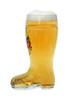 Authentic German Glass Beer Boot with Deutschland Crest