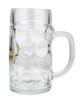 Side View of Personalized 0.5 Liter Saarland Beer Mug