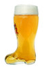 Collectible German Beer Boot Glass with Deutschland Crest