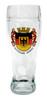 Authentic German Beer Boot Glass with Deutschland Crest