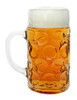 Personalized 1 Liter German Beer Mug with Saschen Crest