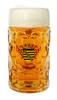 Authentic 1 Liter German Mass Krug with Saschen Crest