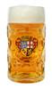 Authentic 1 Liter German Mass Krug with Saarland Crest
