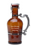 Custom Engraving Placement on 2L Glass Beer Growler (personalized engraving adds $8.95 per item)