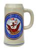 US Navy Stoneware Beer Mug 1 Liter