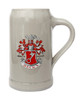 Becks Stoneware German Beer Mug 1 Liter