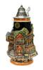Rhein River Towns Souvenir Beer Stein