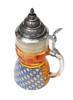 Antique Glass Beer Stein for Germans