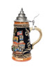 Hand-Painted German Beer Stein of  City of Berlin