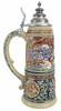 King Limitaet 2016 | Battle of Teutoburg Forest Handpainted Beer Stein