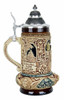 Lovers Wedding Beer Stein for Husband and Wife