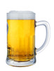 Hacker Pschorr Glass Beer Mug 0.5 Liter