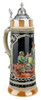 Bavarian Hunters Traditional Style 2 Liter Beer Stein