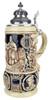 King Limitaet 2001   Lohengrin Antique Style Beer Stein