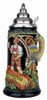 Oktoberfest Party Beer Stein with Handle and Lid