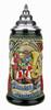 Oktoberfest Oompah Band Beer Stein Rustic   0.4 Liter