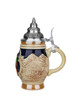 Small .125 Liter Stein with Traditional Alpine Motif