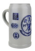 Munich Purity Law 1487 1 Liter Salt Glaze Stoneware Beer Mug